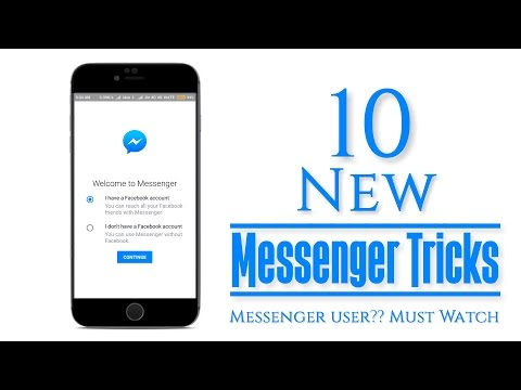 10 New Hidden Trick of Messenger 2017 | that you don't use