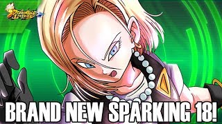 BRAND NEW SPARKING ANDROID 18 COMING SOON!!! Dragon Ball Legends Info!