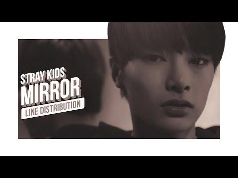 Stray Kids - Mirror Line Distribution (Color Coded) | 스트레이 키즈 - 미러