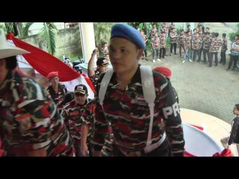 Pelantikan laskar merah putih sulawesi utara 2017 part 02