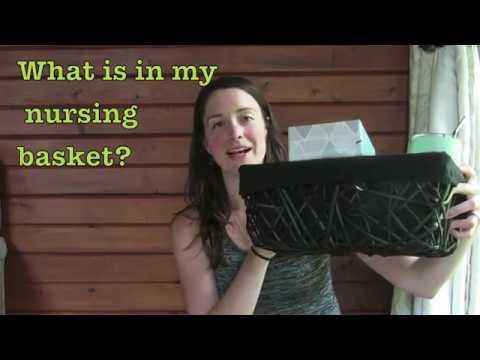 What's in my nursing basket?