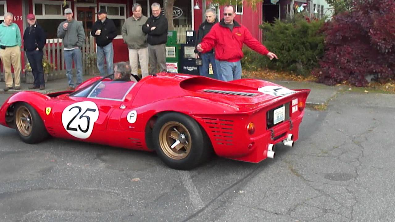 1967 Ferrari P4 LeMans Car Replica - YouTube