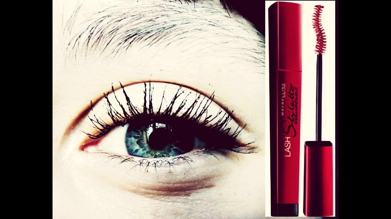 a994709cd4a Maybelline Lash Stiletto Voluptuous waterproof   mascara first impression &  demo