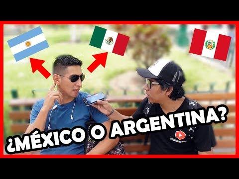 ¿México o Argentina? ¿Cuál prefieren los Peruanos?   Peruvian Life