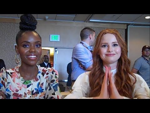 Riverdale - Ashleigh Murray and Madelaine Petsch Interview, Season 2 (Comic Con)