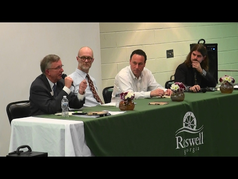 First East Roswell Economic Development Forum with Marcelo Zapata and Michael Palermo 02/08/17