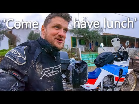 Only Motorcycle Travelers Know This Kind of Hospitality...