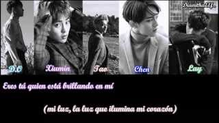 Exo - First Love (Chinese version) [Sub. Español & Color Coded]
