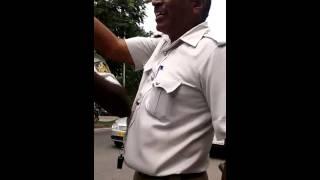 Bangalore police way of talking to public