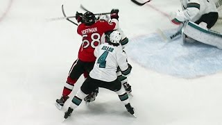 Gotta See It: Hoffman lands vicious cross-check to head on Couture