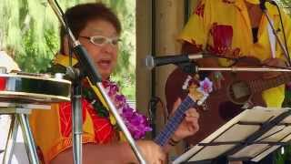 44th Annual Ukulele Festival in Waikiki, HI on July 20, 2014 featur...