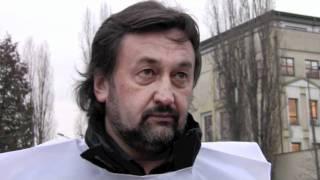 Protest pracowników przed Polfą 1/2 (12.12.11)