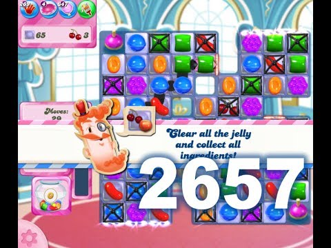 Candy Crush Saga Level 2657 (No boosters)