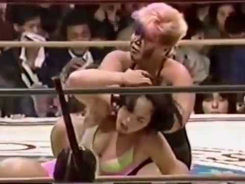 Japanese Mixed Fight Femdom