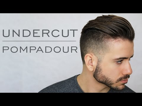 Modern Undercut Pompadour Tutorial | Men's Everyday Hairstyle 2017 | Alex Costa