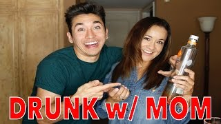 DRUNK SPELLING BEE WITH MY MOM?!?