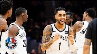 D'Angelo Russell goes off for 36 as Nets best Cavs in 3OT thriller | NBA Highlights brooklyn nets