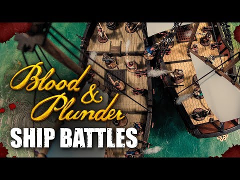Ship Battles & Boarding Actions In Blood & Plunder