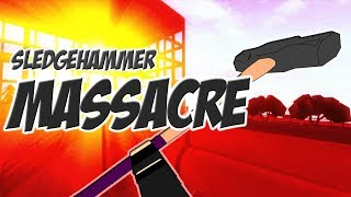 Roblox Phantom Forces Sledge Hammer Massacre Mostly Melee