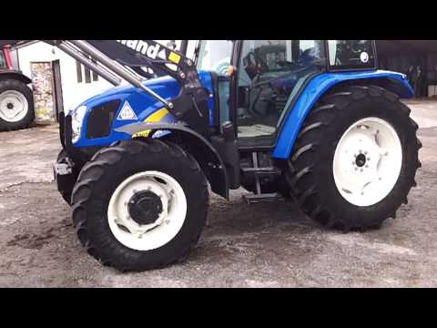 NH T5070 Deluxe c/w New Holland 750TL Loader