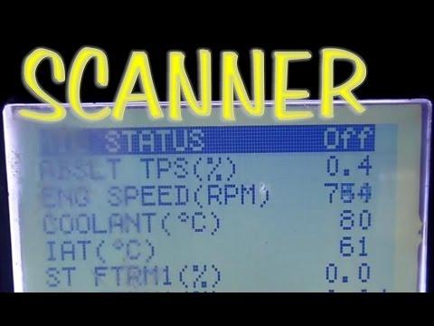 Repaso en el scanner de los datos en vivo mas basicos