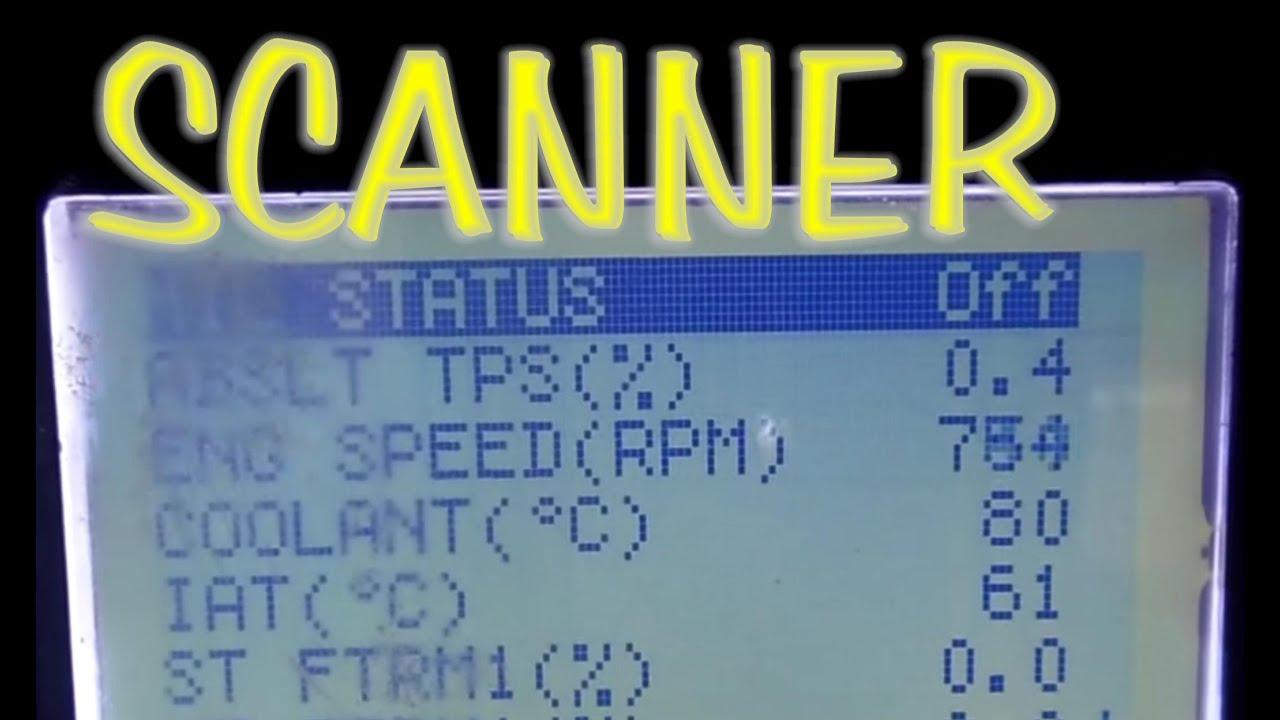 Repaso en el scanner de los datos en vivo mas basicos - YouTube