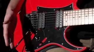 My Road Flare Red Ibanez RG7620 / RG550 hybrid - paint secrets and specs