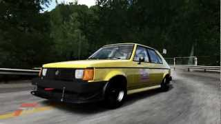 Pizza Planet 1986 Dodge Shelby Omni GLHS at Fujimi Kaido (Stage B) - Forza Motorsport 4