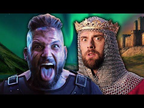 Ragnar Lodbrok vs Richard The Lionheart. Epic Rap Battles of History.