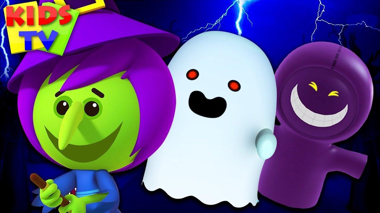 Its Halloween Night Song - Little Eddie | Kids Rhymes & Haloween Music for Children