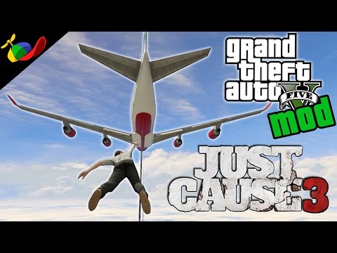 GTA 5 MOD ITA - Just Cause 3 Mod EPICA!!