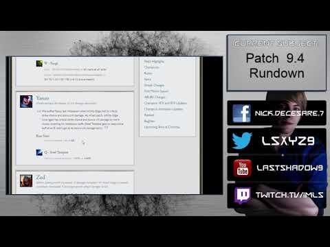 Patch 9.4 Rundown - RESET RANKED