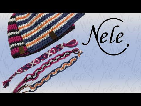 "Knüpfen , Armband knüpfen , Freundschaftsband ""Alexandra"" – DIY Anleitung by Nele C."