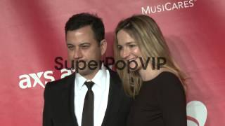Jimmy Kimmel, Molly McNearney at MusiCares 2013 Person Of...