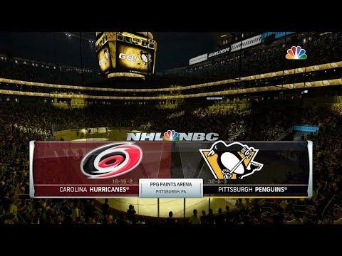 NHL 18 (PS4) - 2017-18 - Game 42 vs Hurricanes