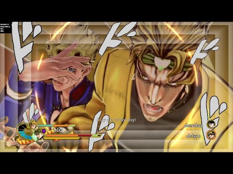 JoJo's Bizarre Adventure: Eyes Of Heaven - All Unique Dual Heat Attacks (NA Version)