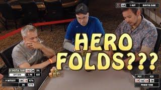 Poker Time: Hero Folds?