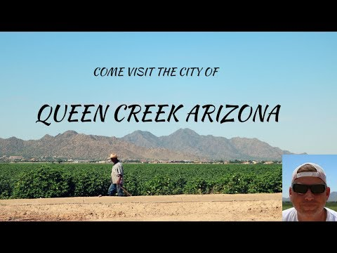Tour the Beautiful Town of Queen Creek Arizona