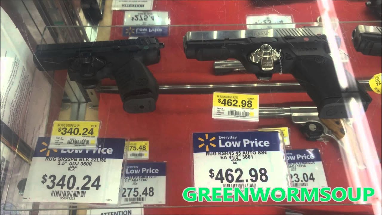 how to buy a gun at walmart