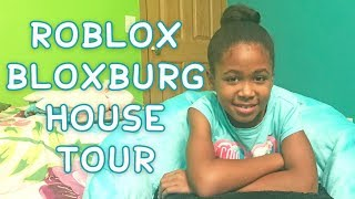 Roblox Bloxburg House Tour & Working Day | Life by Aleah