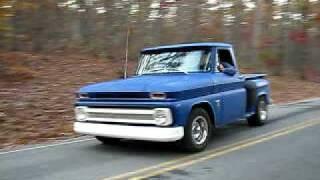 64 chevy truck short burnout