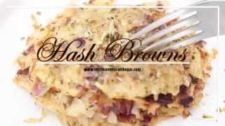 "Como Hacer Hash Browns ""Version Saludable"""