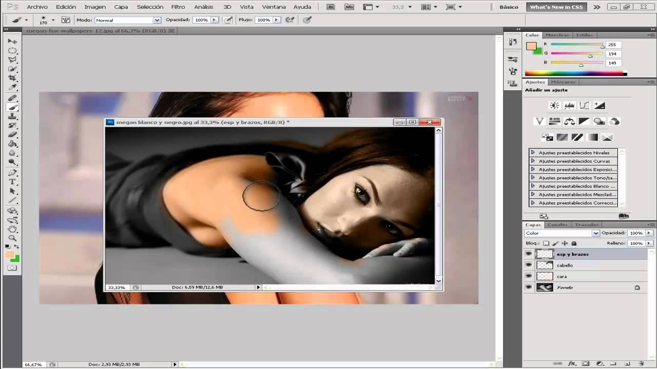 Como Colorear una Imagen en Escala de Grises con Adobe Photoshop