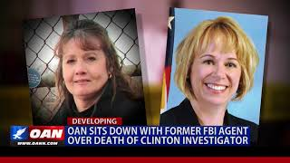 OAN Sits Down With Former FBI Agent Over Death Of Clinton Investigator