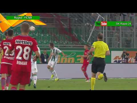 SK Rapid Wien – Steaua Bukarest (FCSB) 3:1; die Highlights | HD | Euro League Playoff