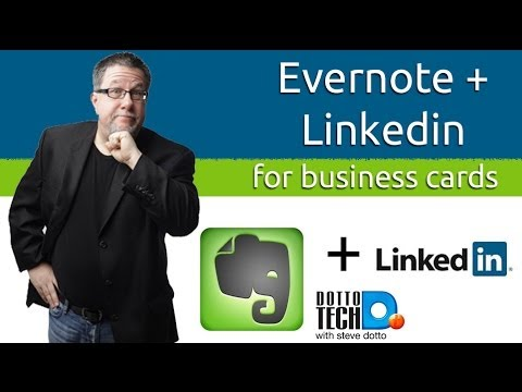 Evernote linkedin team up scanning business cards youtube evernote linkedin team up scanning business cards reheart Images