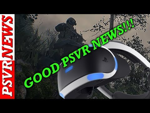 Good News For PSVR Owners | New PSVR Games Announced | PlayStation 5 Vr Game? | PSVR News