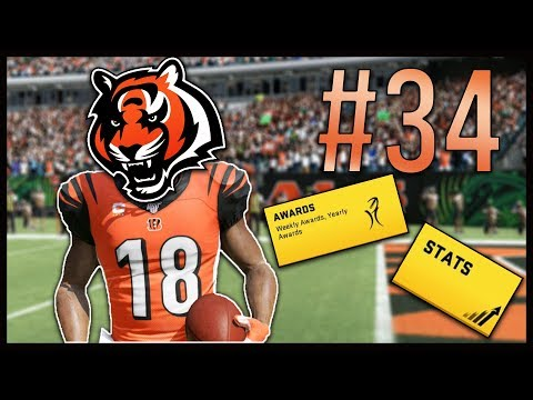 Can We Make The Comeback? + End Of Season Stats/Awards! | Madden 20 Cincinnati Bengals Franchise #34