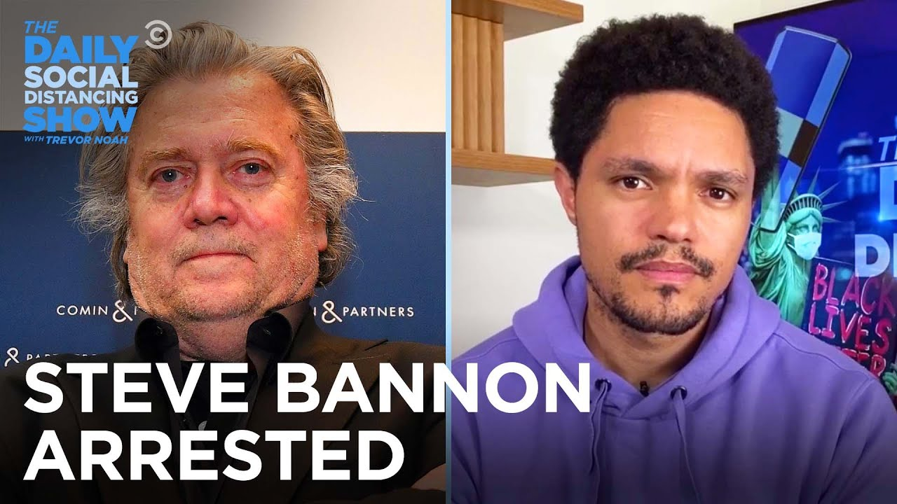 In Other News: Bannon Gets Indicted & Mosquitos Get What's Coming |The Daily Social Distancing S