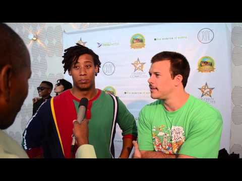 Jimmy Tatro ,and Christian  A Pierce Interview with Movie Reviews & More at the ESPYS 2015.